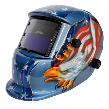 Careta electrónica para soldar Freedom eagle 6710 Adir
