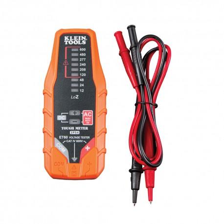 Probador de voltaje CA/CD electrónico ET60 Klein Tools
