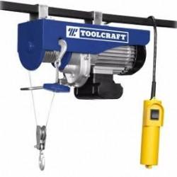 Polipasto eléctrico Toolcraft 200/400 kg  TC 3414