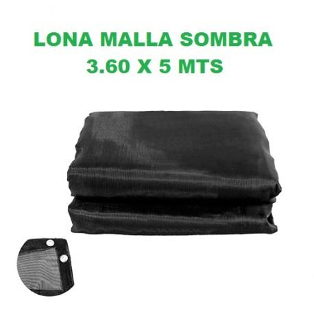 LONA MALLA SOMBRA LION TOOLS 3.60 X 5 MTS