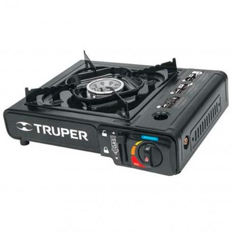 Estufa Portátil con encendido electrónico Truper