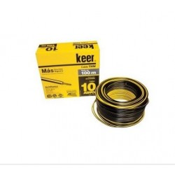 Caja de cable Keer THW 10 con 100 mts