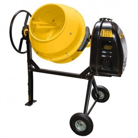 Revolvedora de cemento a gasolina, 160 litros, pretul