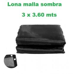 LONA MALLA SOMBRA LION TOOLS 3 X 3.60 MTS