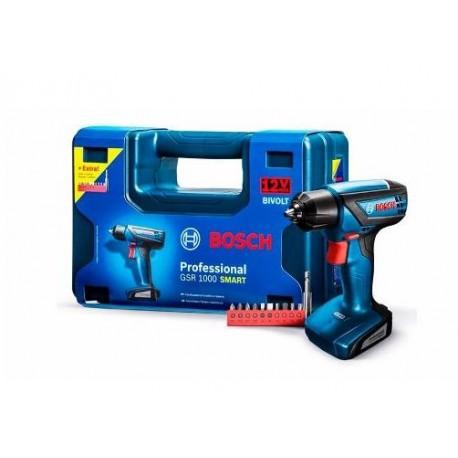 Taladro/desarmador inalambrico Bosch GSR 1000 SMART Professional