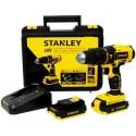 Rotomartillo Inalambrico Stanley 20 V + 2 Baterias Y Estuche