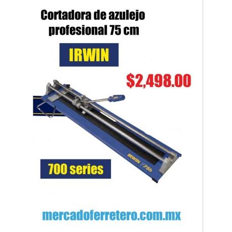 CORTADORA DE AZUEJO Y PORCELANATO IRWIN 750 MM SERIE 700