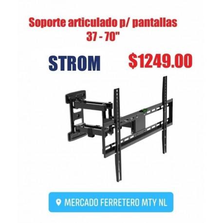 """SOPORTE PARA PANTALLAS 37-70"""" ARTICULADO STROM"""