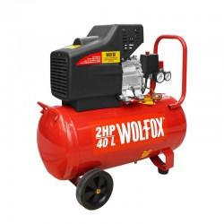 Compresor de aire horizontal 40 litros 2 HP WF0735 Wolfox