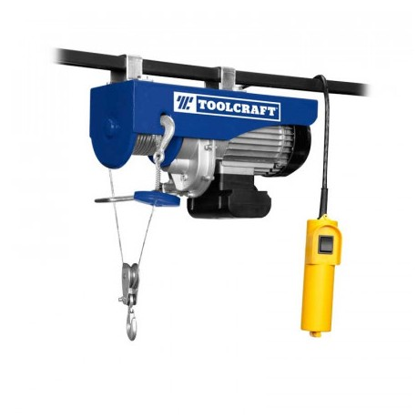 Polipasto Electrico  600 Kg Toolcraft Tc3415