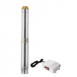 Bomba sumergible tipo bala para agua limpia 1-1/2 HP Truper 16938