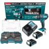 Combo Makita Hp333dyex4 Rotomartillo +cargador +kit Accesorios