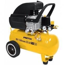 Compresor de aire lubricado de 25 Lts Pretul