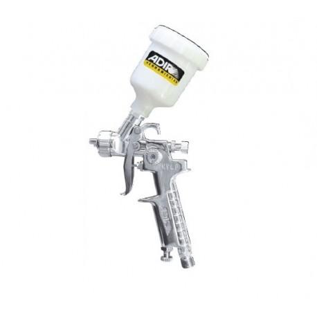 Pistola mini de gravedad ADIR HVLP 691